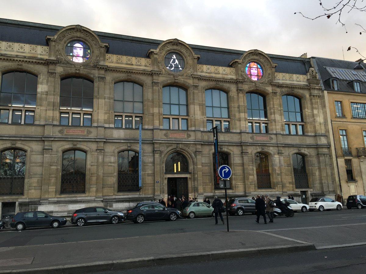 Facade Palais des Beux Arts Paris