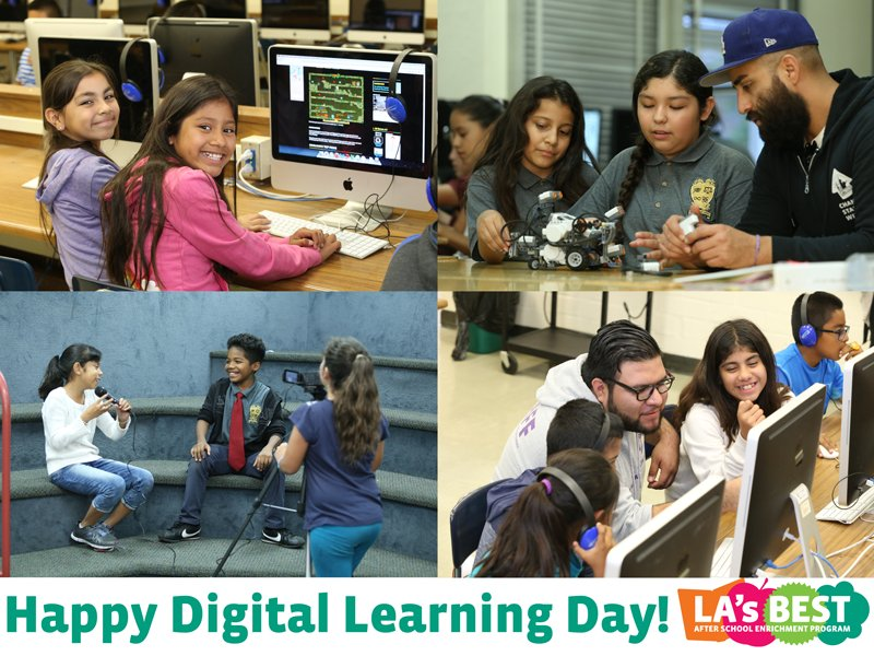 Happy #DLDay! Stay tuned to learn more about #digitallearning #afterschool at #LAsBEST! @OfficialDLDay https://t.co/VEZWctOOvX