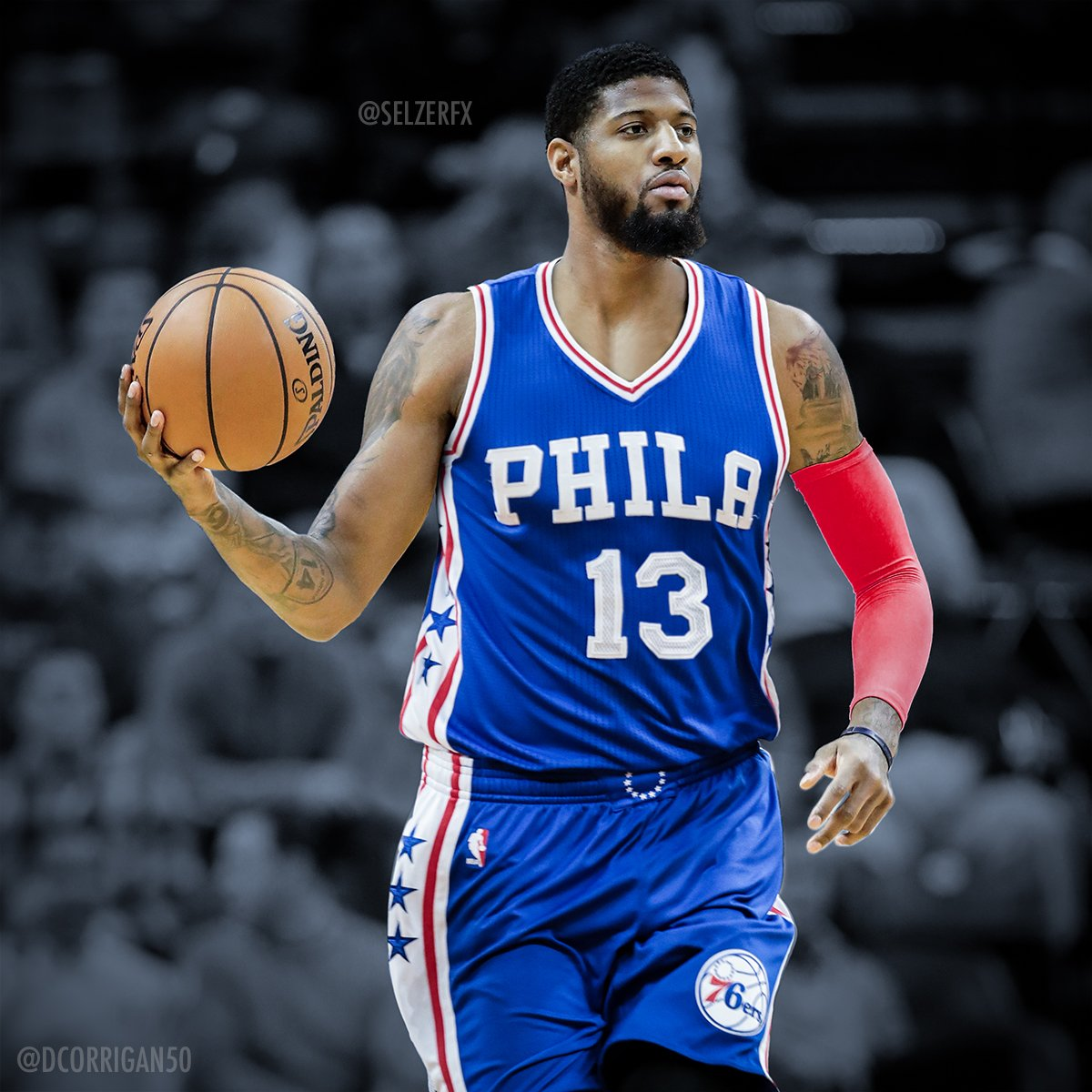 fc79bc01420d Paul George Jersey Swap Related Keywords   Suggestions - Paul George ...