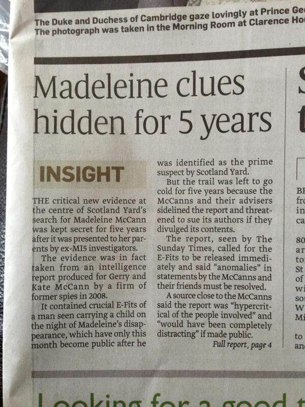 Why the Smith Sighting - and not the Last Photo - is the Key to the Madeleine McCann Case - Criminal Profiler Pat Brown C5XhcmkWYAEOPZd