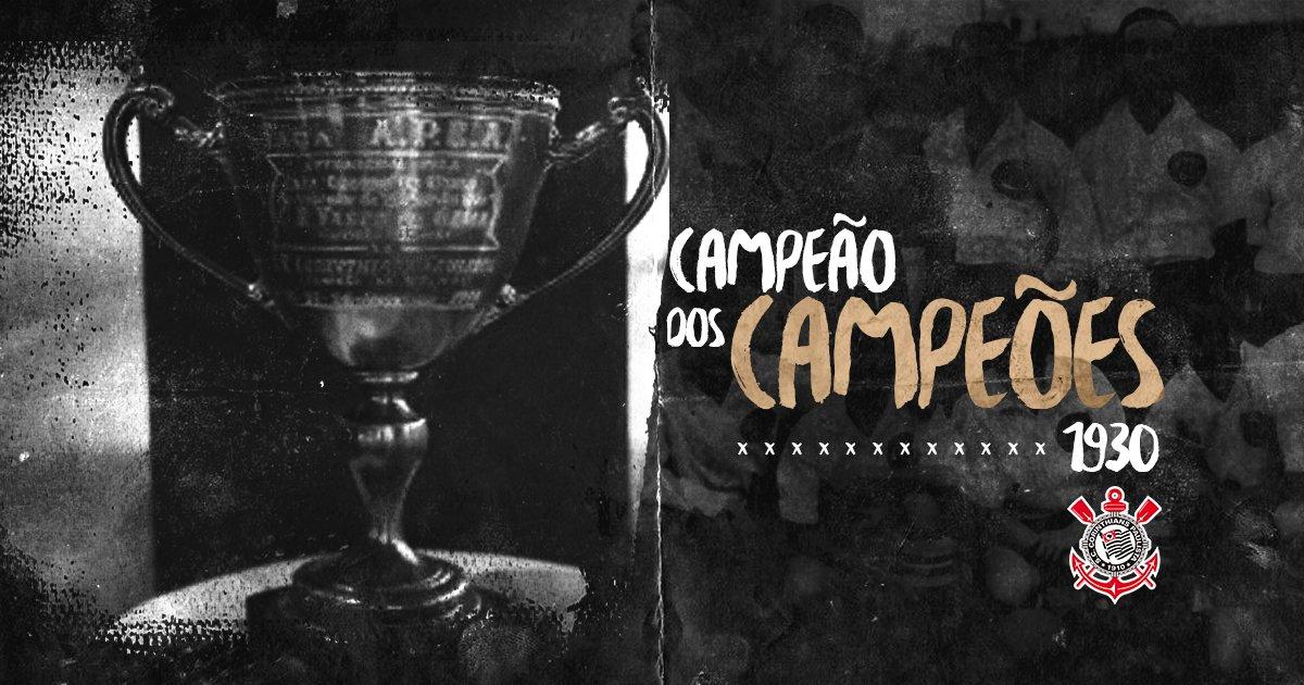 """Há 87 anos, o #Corinthians conquistava Taça APEA e se tornava """"Campeão dos Campeões""""!  #TBTimão"""
