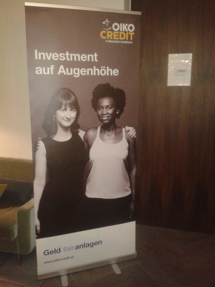 Ahir a conferència d&#39;@Oikocredit a #Viena avaluant i redefinint els criteris de la nostra cartera d&#39;#InversionsÈtiques a termini. I seguim..<br>http://pic.twitter.com/vZXswC5bDR