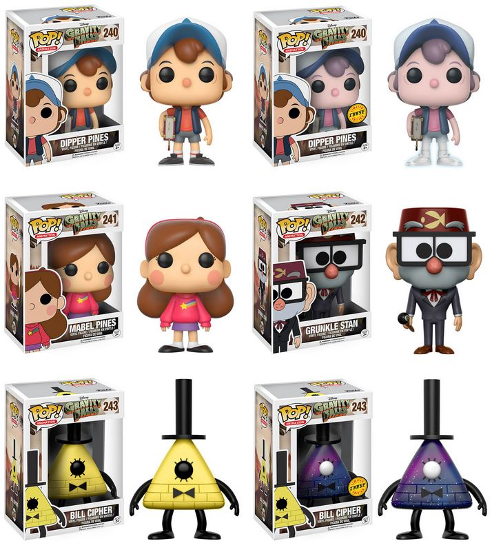 #GravityFalls Pop! from @originalfunko including LE Chase variants @_AlexHirsch https://t.co/ahrMoS86xe