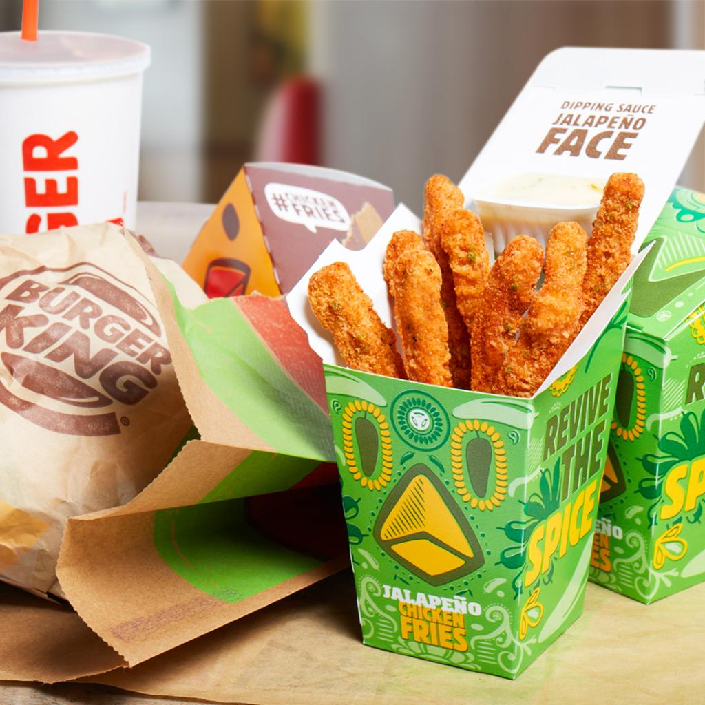 Burger King On Twitter Were Not Asking You To Take Sides Jalapeno Chicken Fries Now Available At Participating Restaurants For A Limited Time