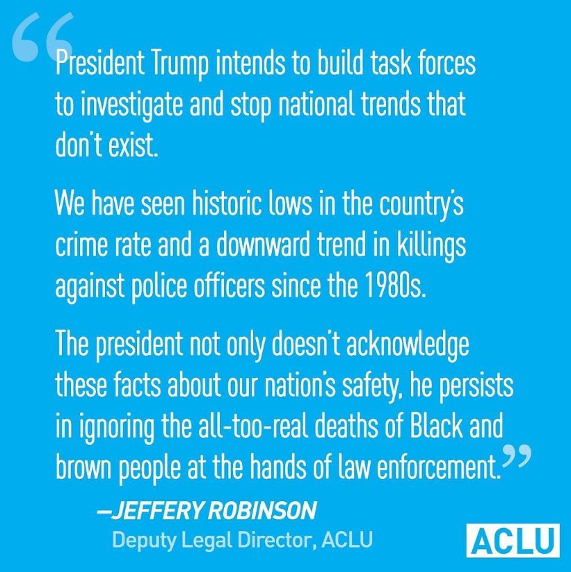 Alternative facts aren't just wrong. They are dangerous. Thanks @ACLU #CJreform
