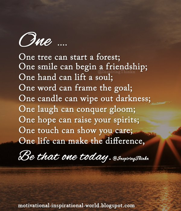 """Forest Quotes: Roy T. Bennett On Twitter: """"One Tree Can Start A Forest"""