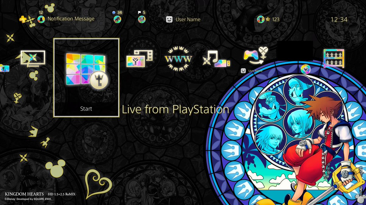 Pre-order KINGDOM HEARTS HD 1.5 + 2.5 on PSN for an Exclusive Theme! - News - Kingdom Hearts Insider