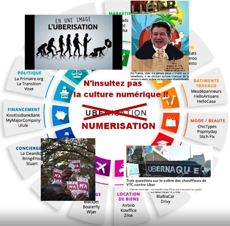 La #Numérisation n&#39;est pas l&#39;#Uberisation!! Cessez d&#39;&#39;insulter la culture numérique!! #vtc #multinationales #offshore #fillon #macron #lepen<br>http://pic.twitter.com/8O8jvNokPp
