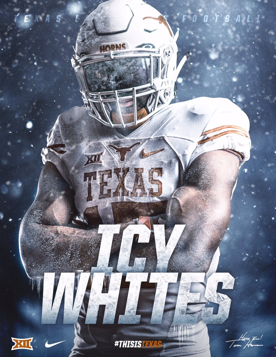 Hands down the best uniform in college football ❄️❄️❄️❄️ #ThisisTexas https://t.co/Fctz0NgiA8