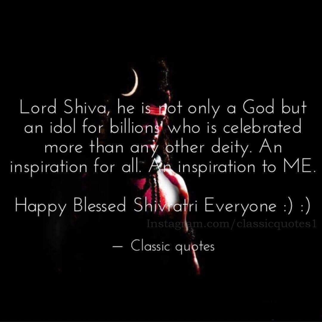 "Classic Quotes Classic Quotes On Twitter ""lord Shiva He Is Not Only A God But"