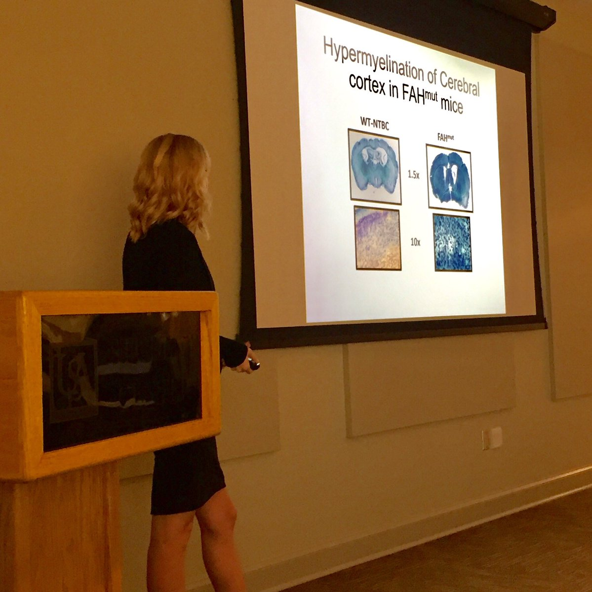 Proud of Marissa presenting her brain myelin data to the Alabama Academy of Science #UAH #UAHstudentresearch #uahuntsville #tyrosinemia <br>http://pic.twitter.com/nBepmPshJL