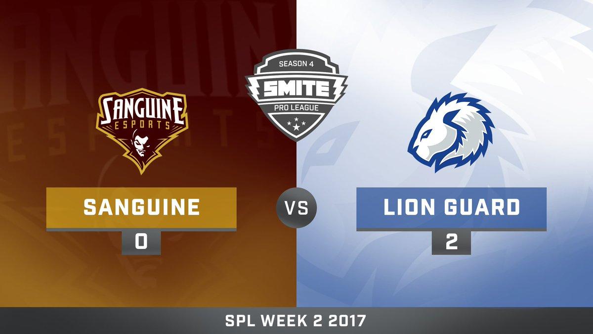 Sanguine vs Lion Guard