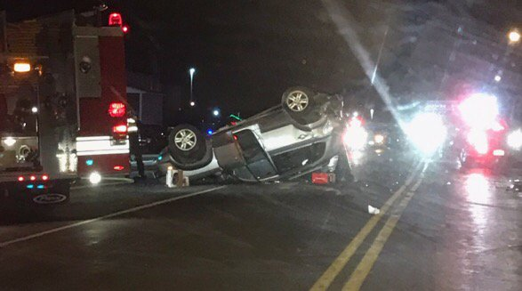Four sent to Strong after serious head on crash near Big Lots in Geneva