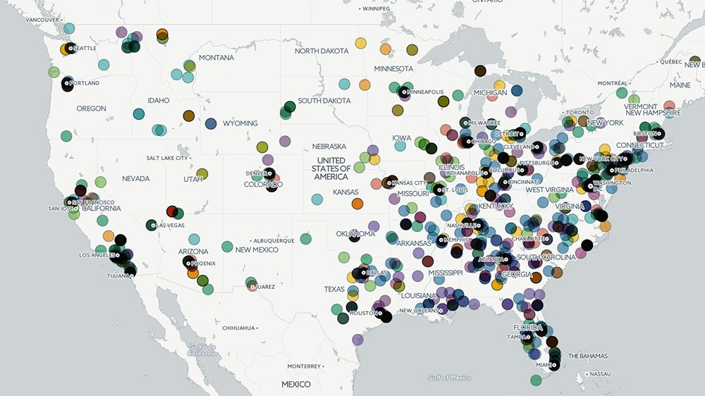 Al Jazeera English On Twitter Mapping Hate The Rise Of Hate - Map of hate groups in the us