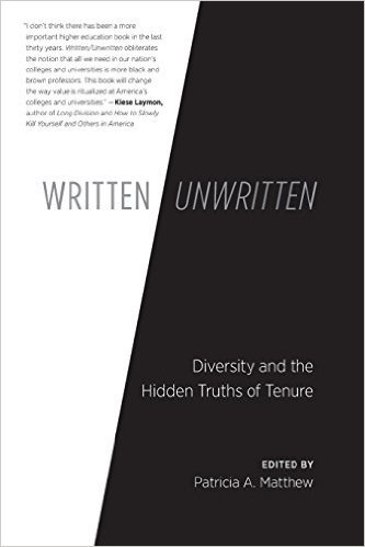 Welcome to #writtenunwritten, my chat with @triciamatthew. From 7-8:30pm EST we're talking diversity, tenure, and everything in between. https://t.co/JNfB7HYgkq