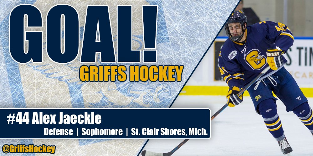 4:17 | GOAL: CANISIUS! | Jaeckle gets his third of the season. Assist...