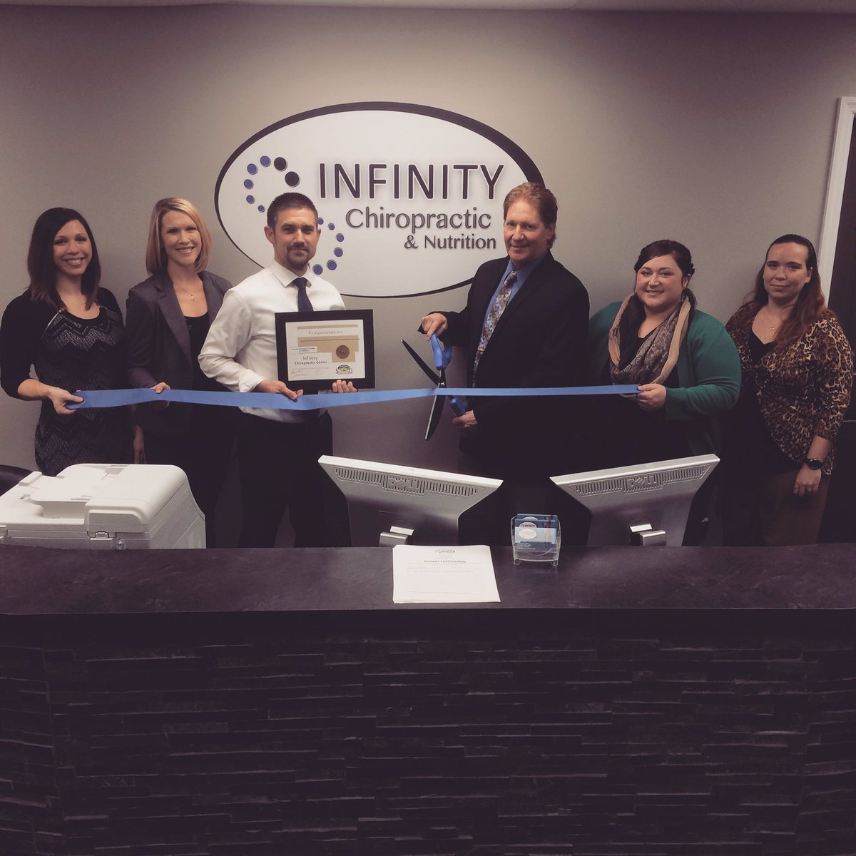 Springboro Chamber On Twitter Congratulations To Dr Brent - Infinity chiropractic