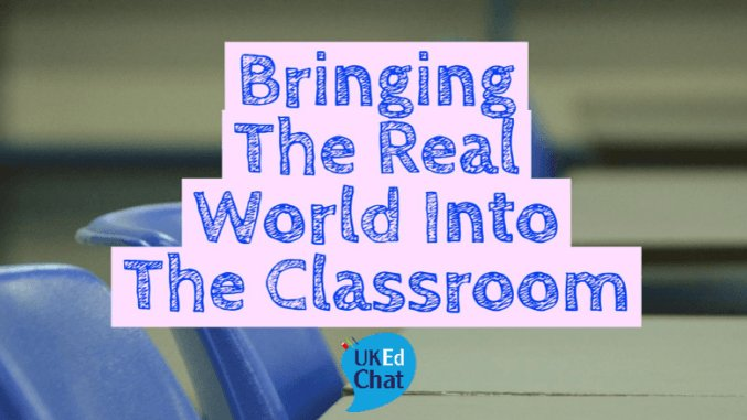#UKEdChat Q1. What do you think are the barriers to 'real world learning' in schools? Remember to use the hashtag in your tweets. https://t.co/SRXgw0rGhQ