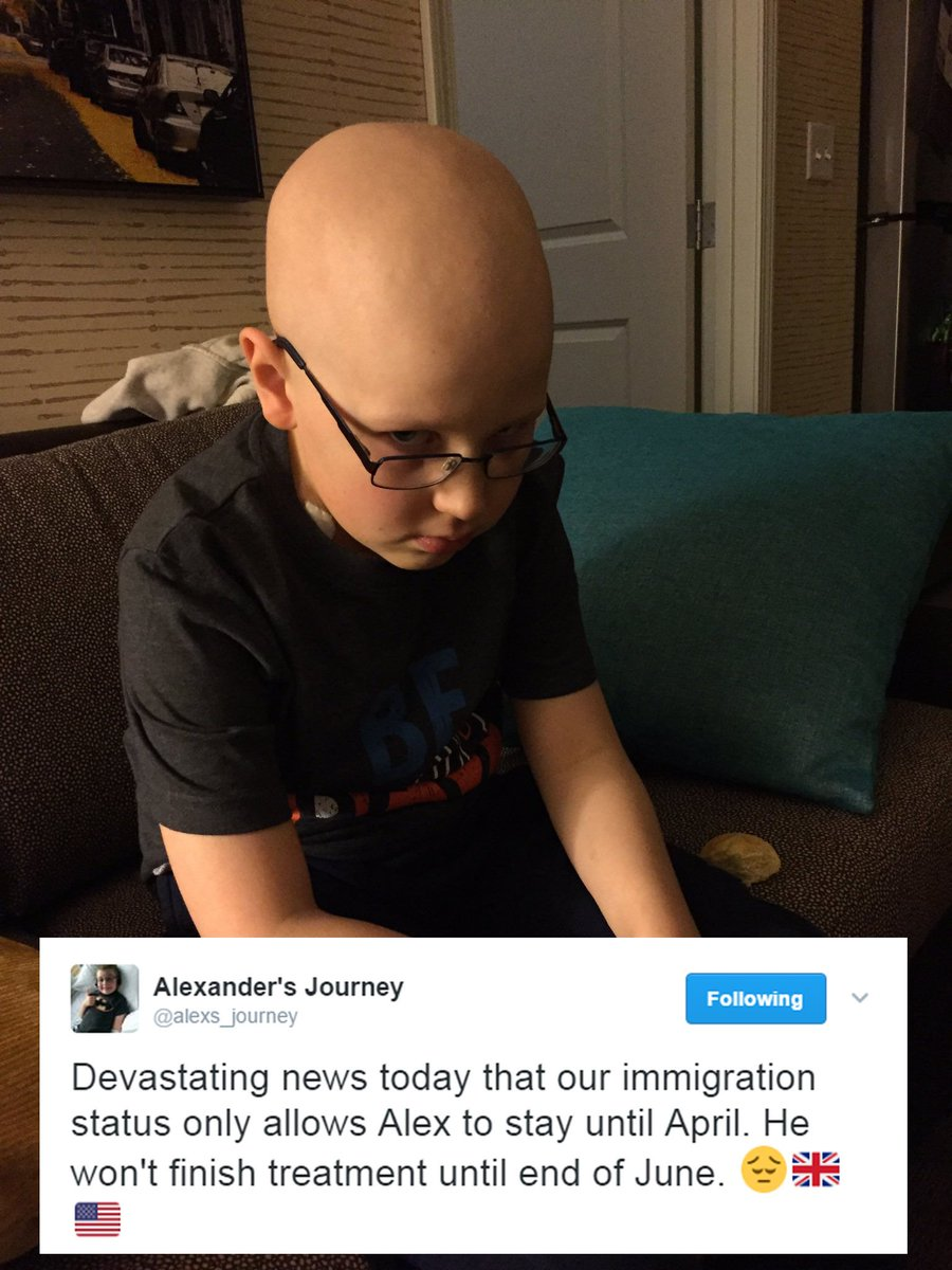 Friends... We need to campaign for @alexs_journey. We can't let this happen. Please RT #LetAlexStay https://t.co/IXutHwVP66