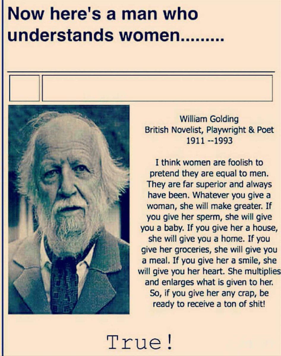 Here's a man that understood women. https://t.co/VW4L4mhwrx