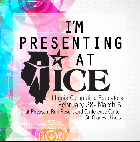 WHOAH! T-Minus ONE WEEK!  Can't wait to share, explore and learn with other awesome educators! #ICE17 https://t.co/6KL26Dxdjz