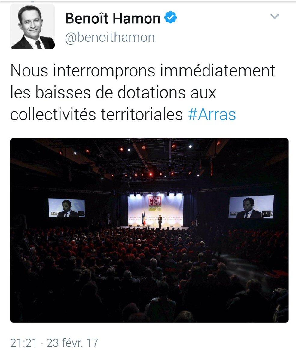 Quand @benoithamon présente le programme d&#39;@EmmanuelMacron a #arras  <br>http://pic.twitter.com/SJi2Y0QihV