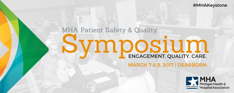 Network w/ MI healthcare leaders at the MHA #PatientSafety & Quality Symposium! Exhibit space available https://t.co/qPhc1UPLgB #MHAKeystone https://t.co/vSbCURl4GR