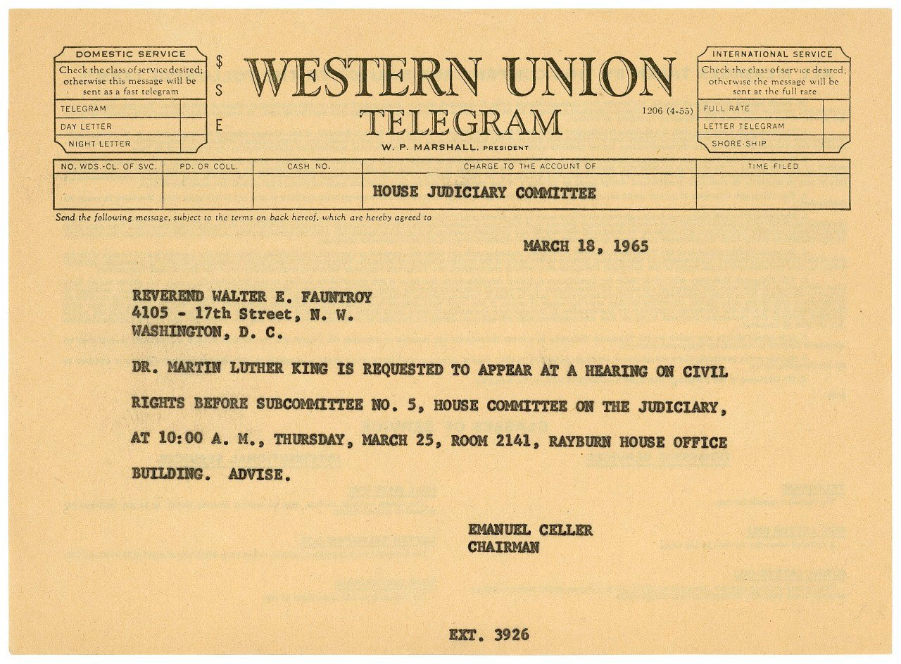 #TeachingTip:  #Primarysources are a great tool for teaching about #civilrights. Try this telegram to #MLK. https://t.co/Hu1CiYF7Cn https://t.co/xWvg4IUW6y