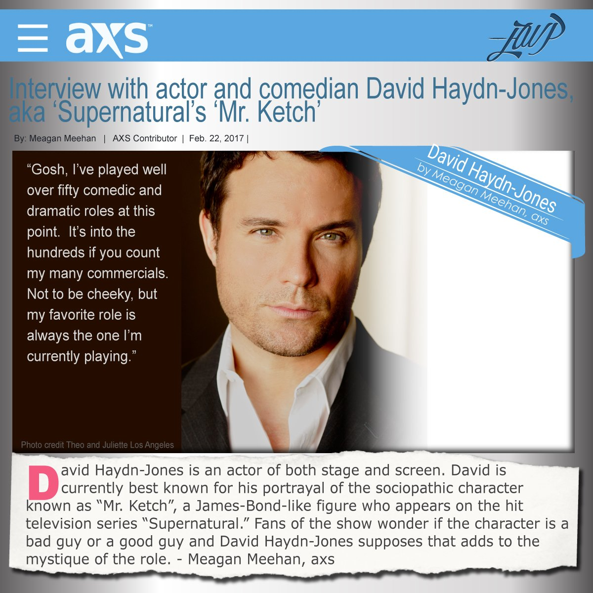 If the side of @DavidHaydnJones you love most is his classic comedic style know this @AXSTV interview delivers. https://t.co/y3J6bsZ2rK https://t.co/xrZiwwLnq0