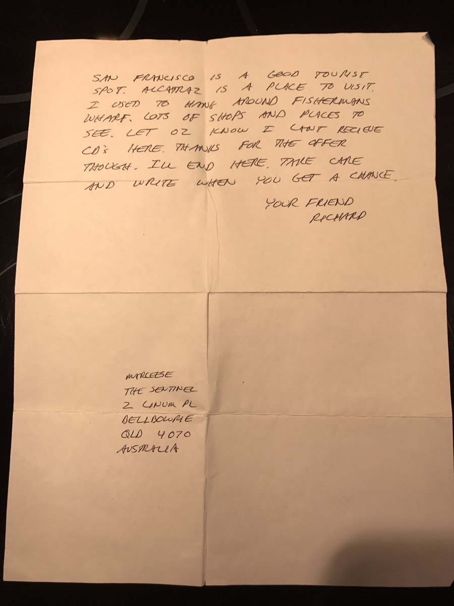 Legion on twitter just got this letter in the mail written by legion on twitter just got this letter in the mail written by richard ramirez to a pen pal from prison thecheapjerseys Image collections