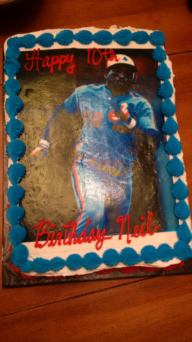 Tim Raines On Twitter Wow Im Touched Cool Cake Happy Birthday