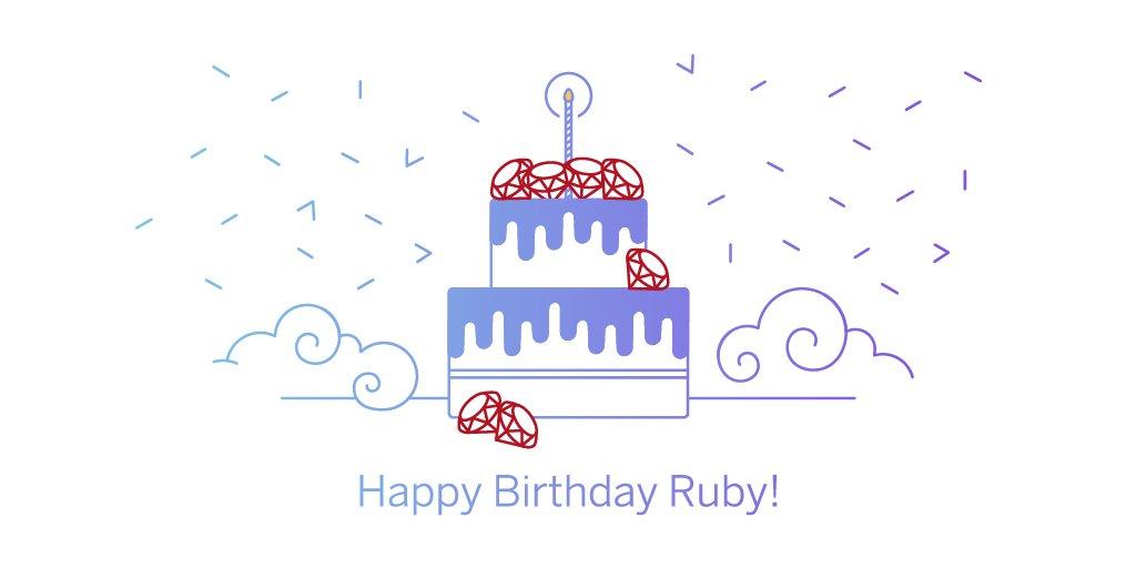 Happy Birthday #Ruby! Best wishes