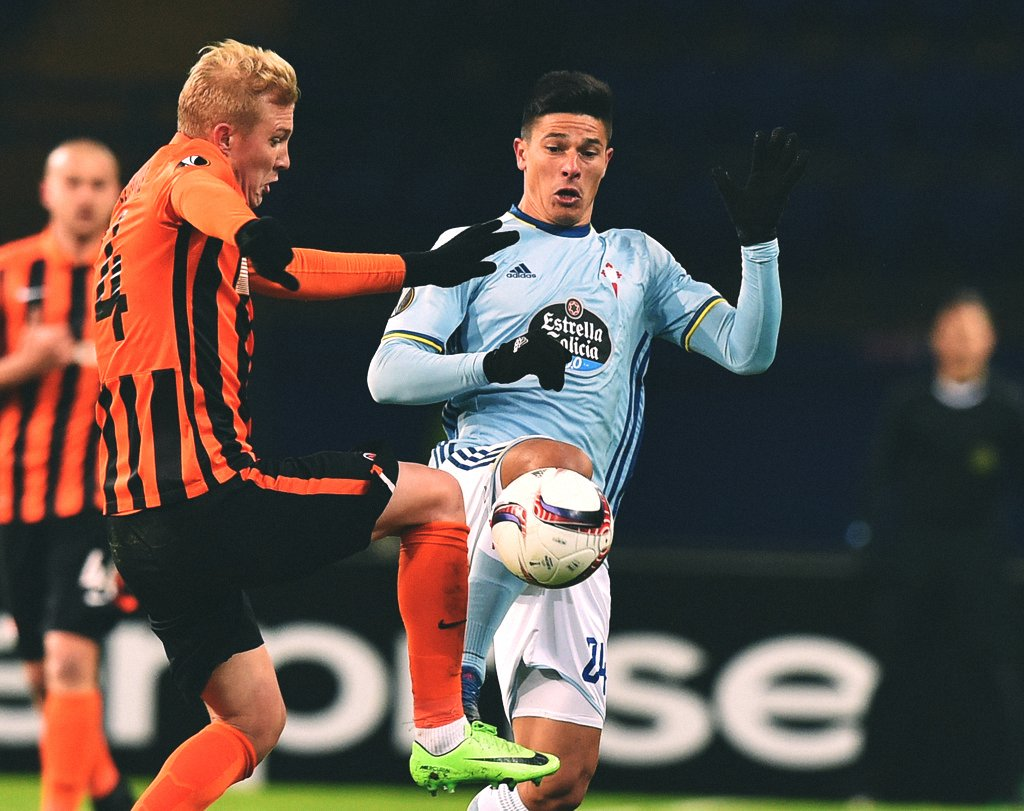 Evinde Shakhtar'a 1-0 mağlup olan Celta Vigo, deplasmanda 0-1 ile uzat...