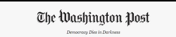LA DEMOCRAZIA MUORE NELL'OSCURITA' La scelta del nuovo claim del @wash...