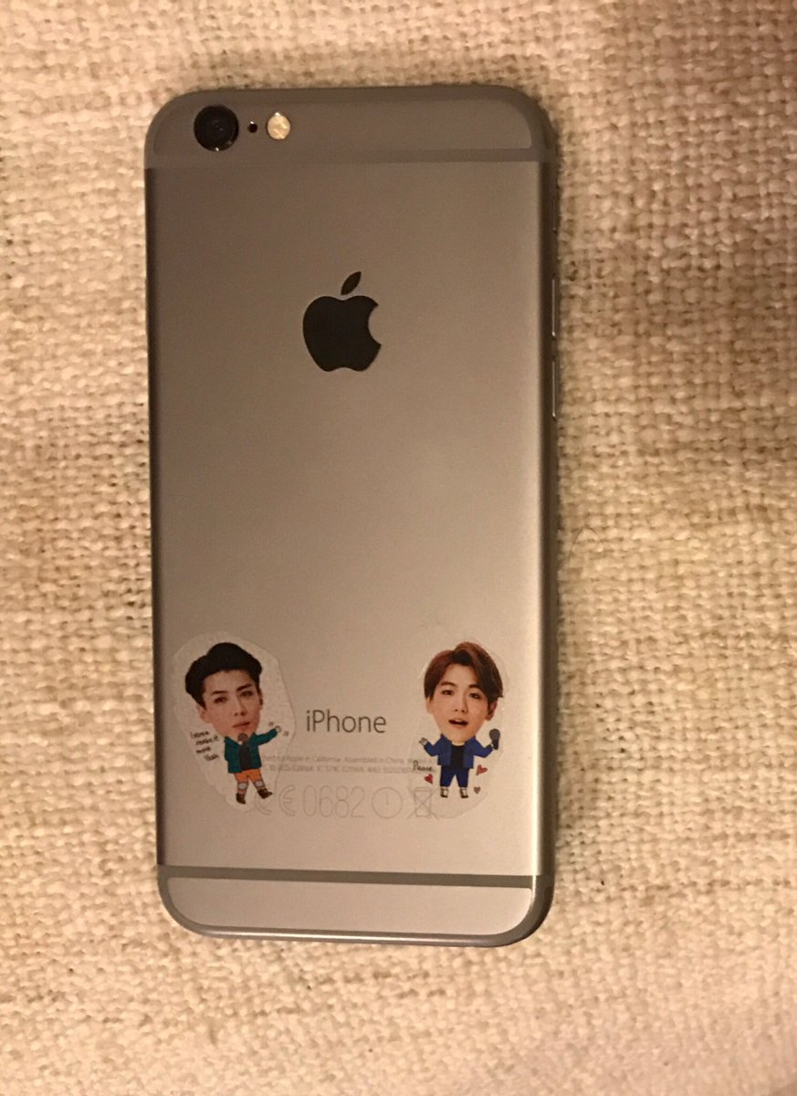 finally gave homes to 3 of my 100000 exo stickers