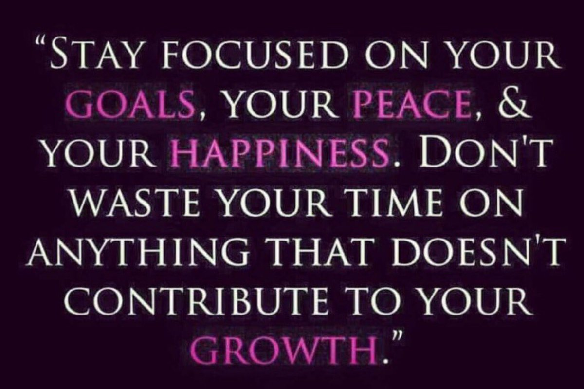 """Peace Love And Happiness Quotes Wright Thurston On Twitter """"stay Focused On Your Goals Your"""