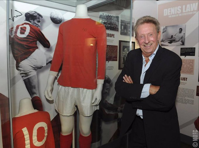 404 appearances.  237 goals.  A true United legend. Happy birthday, Denis Law!