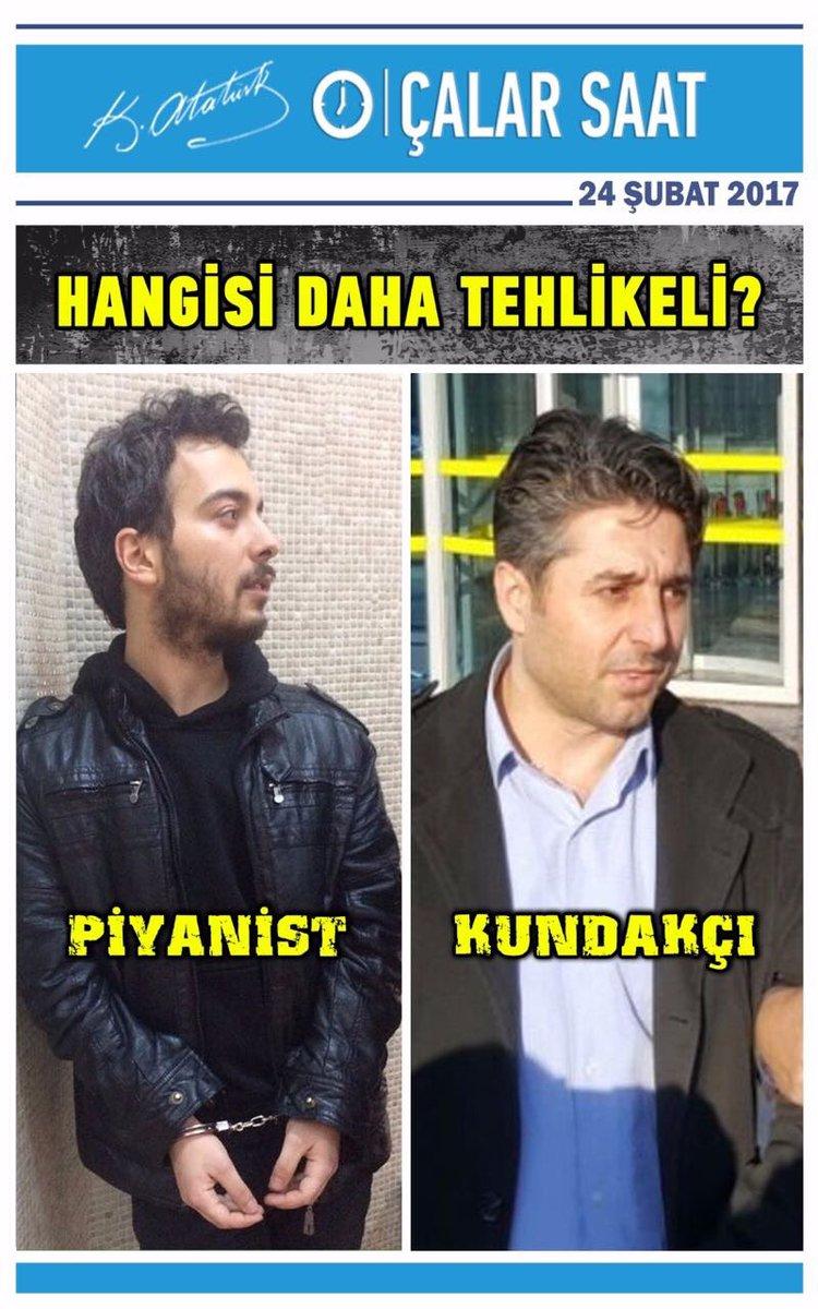 Hangisi daha tehlikeli Türkiyem; 'hakaret ettiği iddia edilen piyanist...