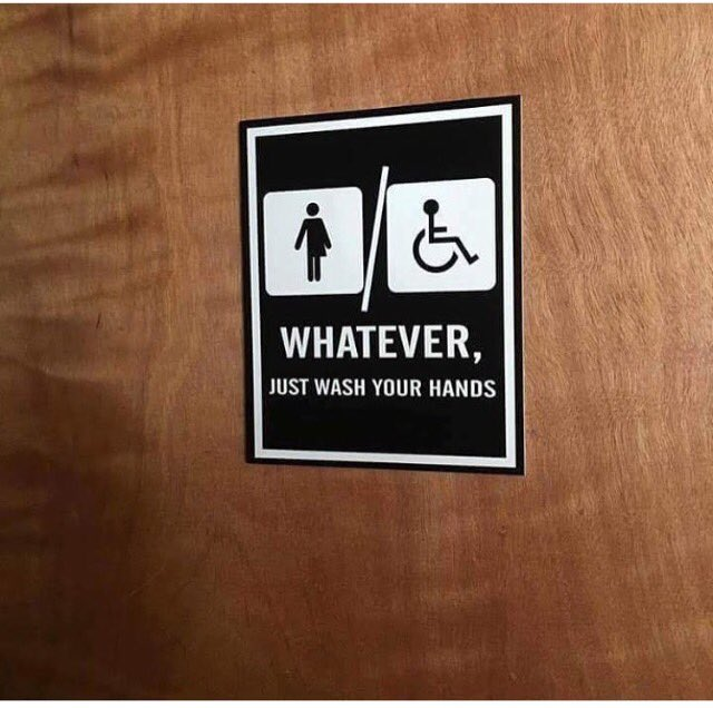 This is America. Inclusively surly. Photo @janeohelp #