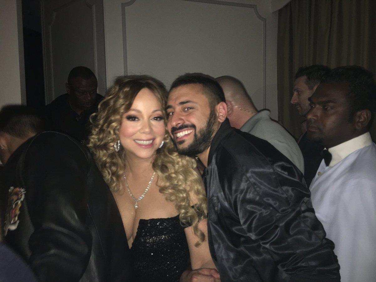 So, I just chatted with @MariahCarey in #Dubai at @bagatelledubai -- i told her... https://t.co/3bQtcHWtX0