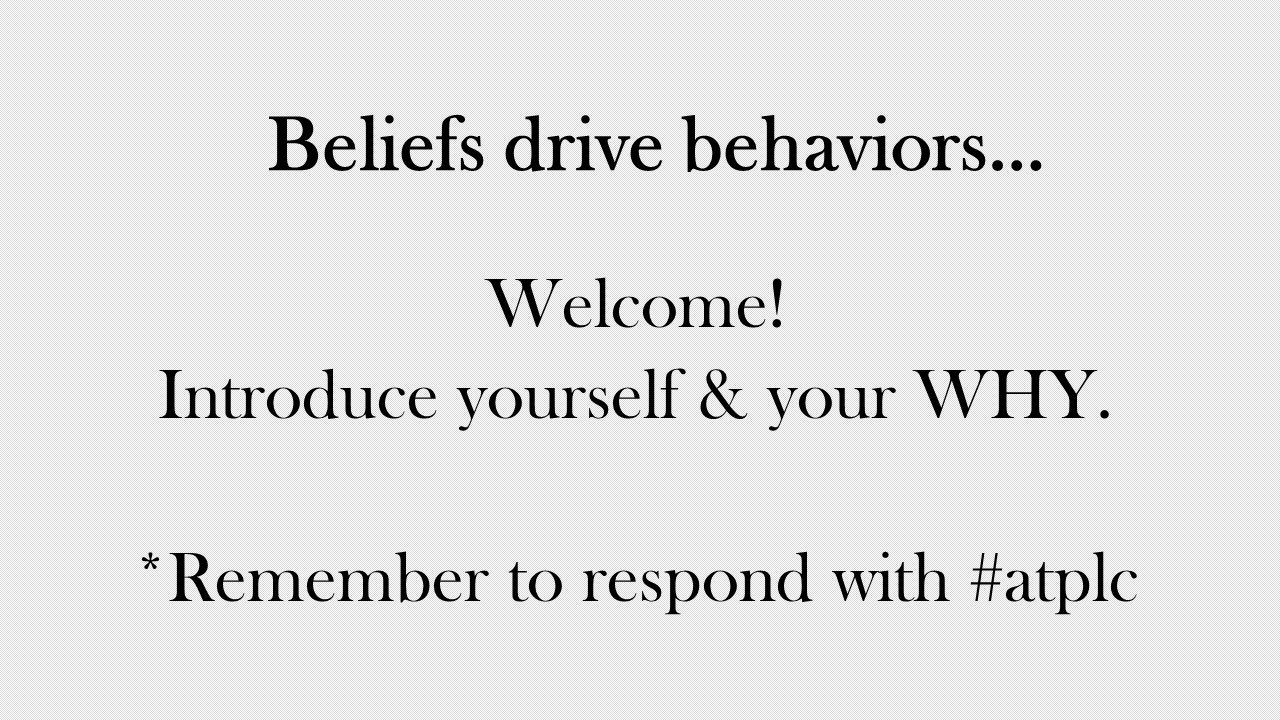 Thumbnail for Beliefs Drive Behaviors in a PLC