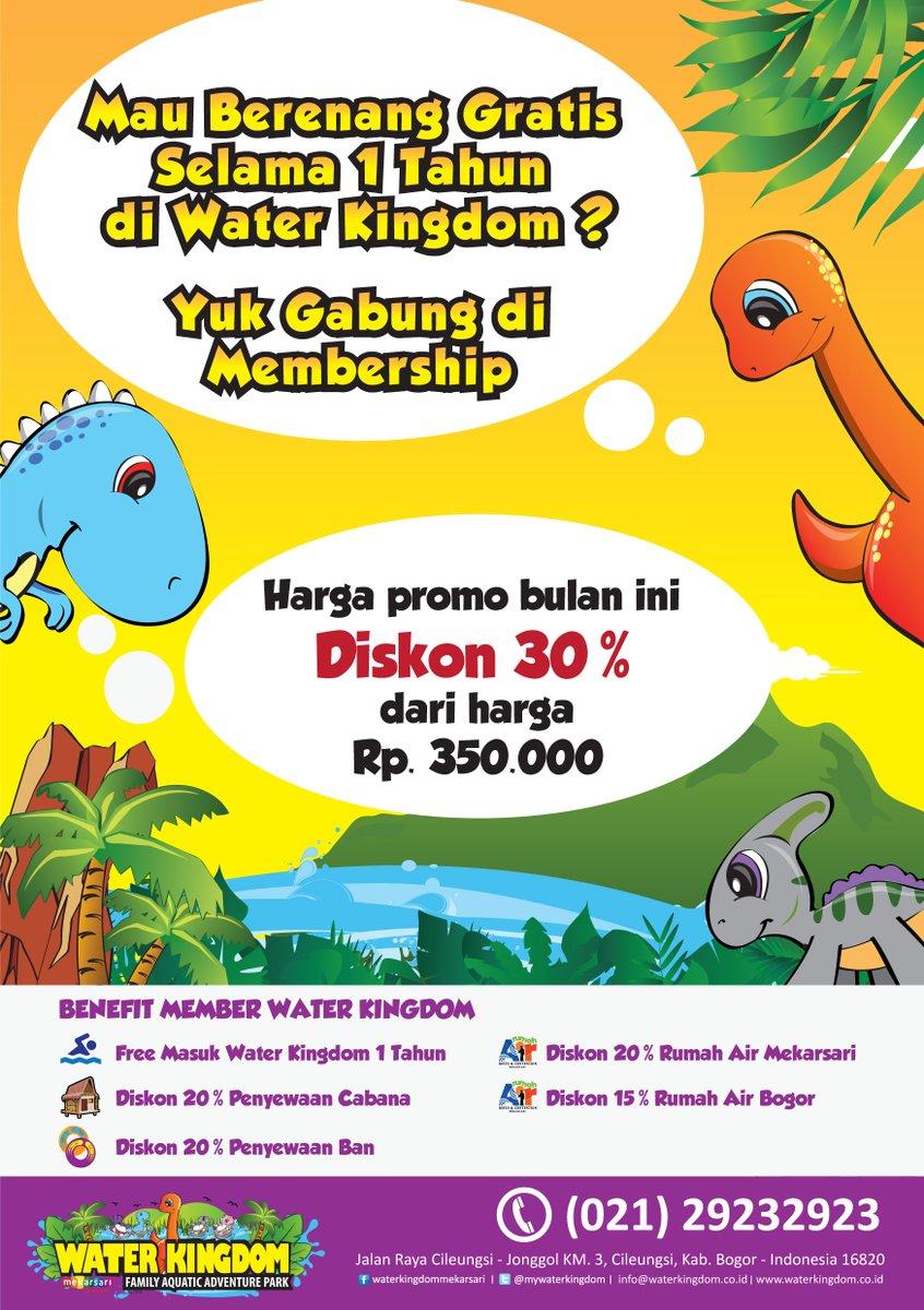 Water Kingdom On Twitter Mau Berenang Gratis Selama 1 Tahun Guys Voucher Tiket Masuk Waterkingdom Mekarsari Cileungsi Yuk Jadi Membernya Murah Kok Hehehe Info 021
