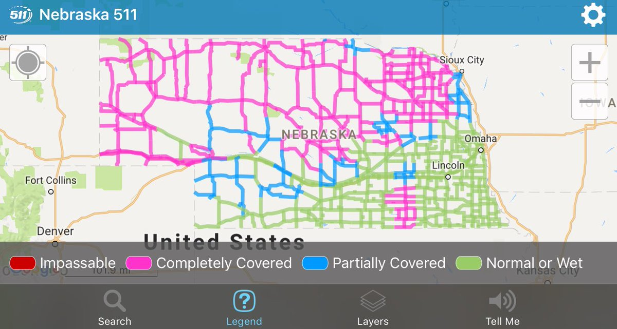 511 nebraska road conditions map Nebraska Dot On Twitter Here S A Look At Road Conditions As Of 8 511 nebraska road conditions map