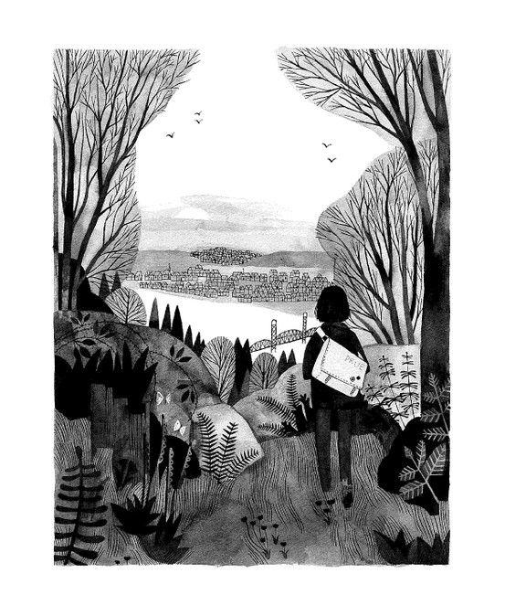 Thumbnail for #kidlitart Illustrating for Middle Grade 2-24-17