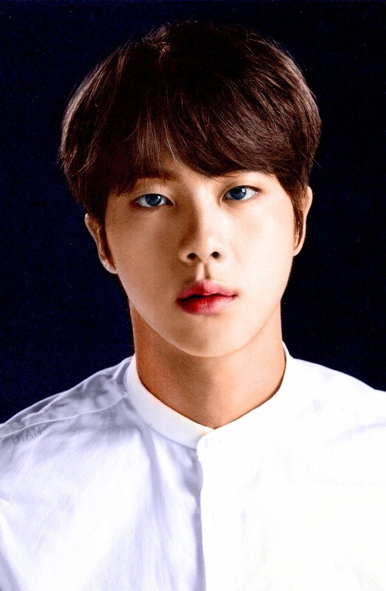 #방탄소년단 #JIN #김석진 Jin face photo collection, color made with PS 1<br>http://pic.twitter.com/OGvVbkDne0
