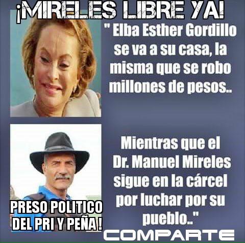 ¡Mireles Libre YA! ccp @epn #FueraPeñaYA - #BuenViernes #MeDaPorTomarC...