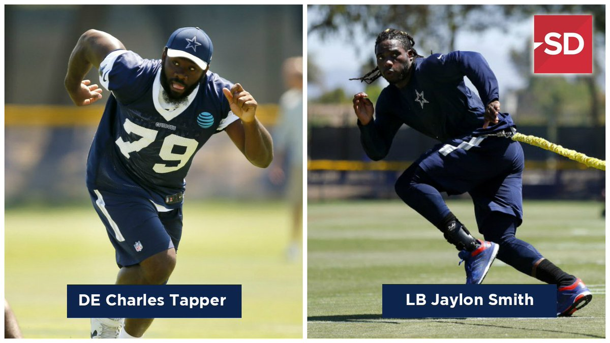 #Cowboys fans: Which defender will make a bigger impact in 2017? RT for Jaylon Smith, like for Charles Tapper! More:  http:// p.d-news.co/cqwp  &nbsp;  <br>http://pic.twitter.com/bqmlA5CfAe