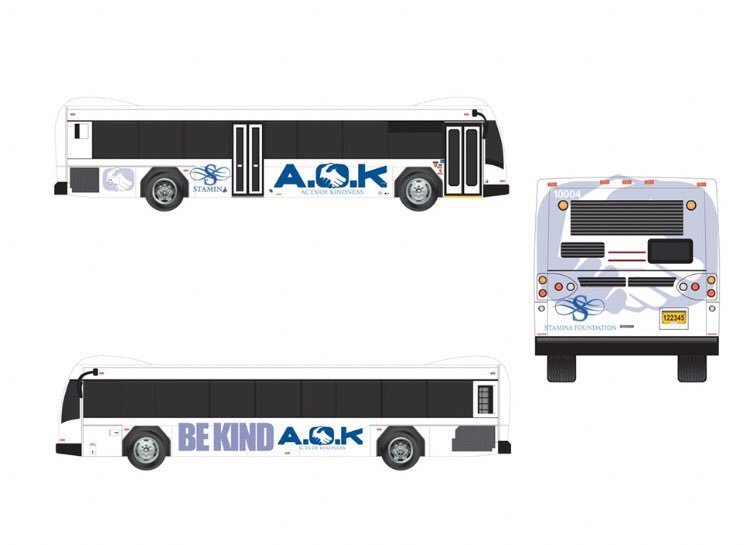 Building Acts Of Kindness Across the Globe!! Why walk alone when we can ride together?!! All Aboard the #AOK Bus! 🚎