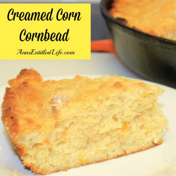 Creamed Corn Cornbread Recipe