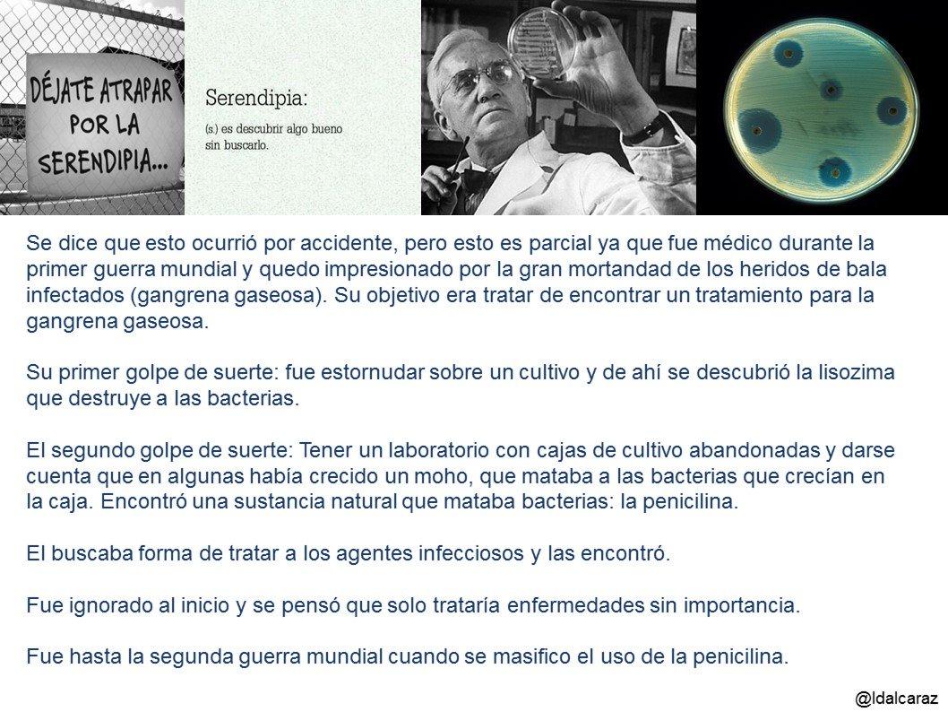 Alexander Fleming descubre y prueba los efectos de la penicilina en 1929 #microMOOCSEM2 https://t.co/lO2Arm2DlB